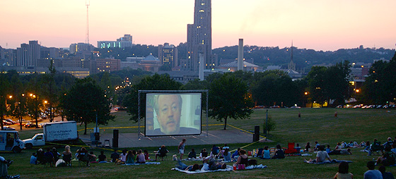 Cinema in Schenley Park